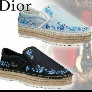 Dior - Dior 18ss 刺繍 シューズ