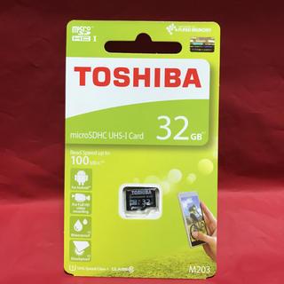 東芝 - TOSHIBA 東芝 micro SDHCカード 32gb