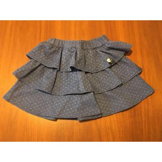 familiar - 未使用 ファミリア キュロットスカート 110㎝