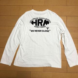 ハリウッドランチマーケット(HOLLYWOOD RANCH MARKET)のハリウッドランチマーケット バックプリント 4  Tシャツ ハリラン 人気(Tシャツ/カットソー(七分/長袖))
