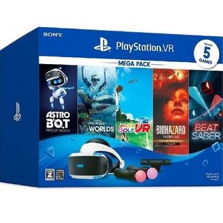 プレイステーションヴィーアール(PlayStation VR)の新品未開封品PSVRメガパック (その他)