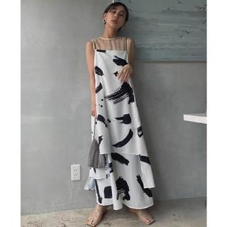 Ameri VINTAGE - 新品タグ付 アメリヴィンテージ MEDI INK LAYERED DRESS