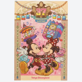 Disney - 【新品】ディズニー 37周年 ポストカード