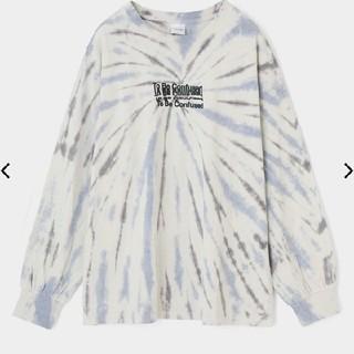 マウジー(moussy)のMOUSSY OVERPRINT TIE DYE LS Tシャツ(Tシャツ(長袖/七分))