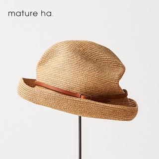 nest Robe - 美品希少 mature ha.✨マチュアーハ 7cmボックスハット レザーベルト