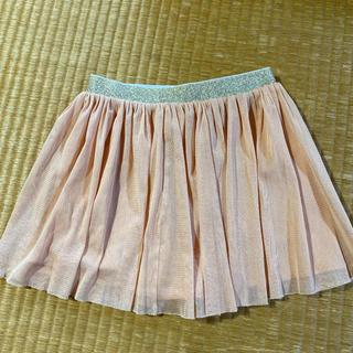 ユニクロ(UNIQLO)のUNIQLO ユニクロ キッズ チュールスカート S(スカート)