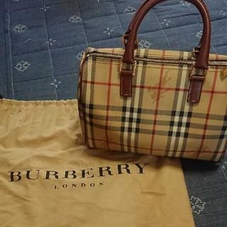 BURBERRY - 美品❤️バーバリー♥️ボストンバッグ❤️レディースバッグ