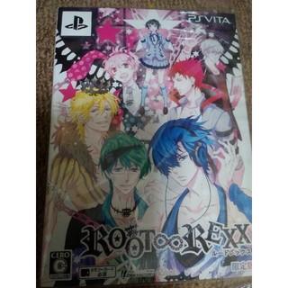 プレイステーションヴィータ(PlayStation Vita)のROOT∞REXX(ルートレックス)(限定版) Vita 乙女ゲーム(携帯用ゲームソフト)
