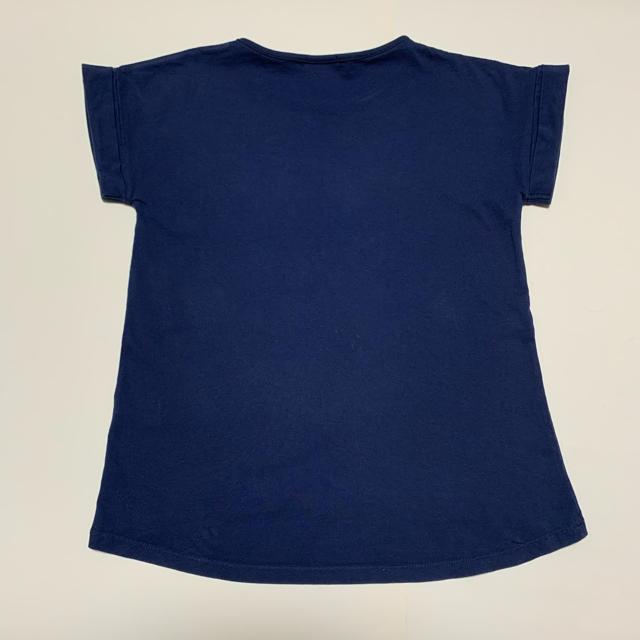 GU(ジーユー)の☆gu  袖口折り返し半袖Tシャツ☆150cm(^^) キッズ/ベビー/マタニティのキッズ服女の子用(90cm~)(Tシャツ/カットソー)の商品写真