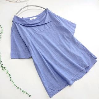 SM2 - SM2 blue  *セーラー風デザイン襟ブラウス*