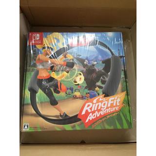 ニンテンドースイッチ(Nintendo Switch)のリングフィット アドベンチャー ニンテンドー スイッチ 新品未開封(家庭用ゲームソフト)