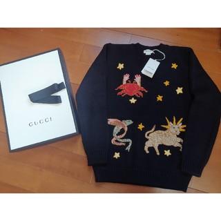 グッチ(Gucci)の『大人OK』2020年新作 グッチ 星座セーター キッズ 12(ニット/セーター)