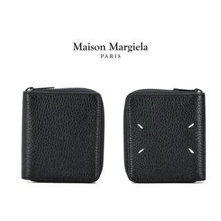 マルタンマルジェラ(Maison Martin Margiela)のメゾン マルジェラ MAISON MARGIELA レザー二つ折財布(折り財布)