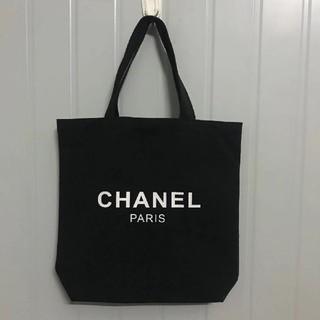CHANEL - シャネル ノベルティ トートバッグ black