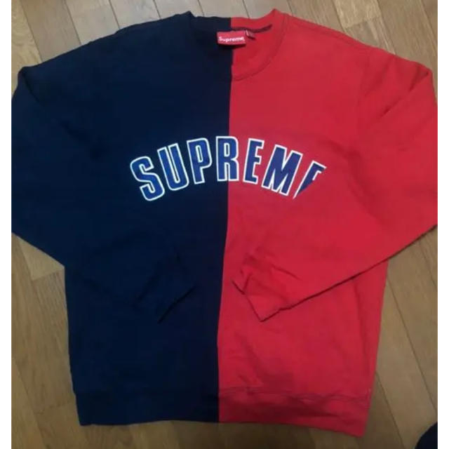Supreme(シュプリーム)のsupreme split crewneck メンズのトップス(スウェット)の商品写真