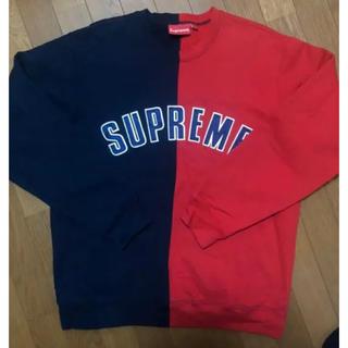 Supreme - supreme split crewneck