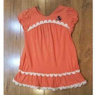 ANNA SUI mini - アナスイミニ Tシャツ 120 ピンク 女の子