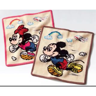 FEILER - JAL 機内販売 フェイラー オリジナルハンカチ ミッキー&ミニー 2枚セット