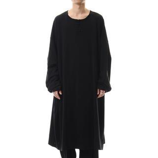 ヨウジヤマモト(Yohji Yamamoto)のYohji Yamamoto 20ss チャイナボタンロングスリーブTシャツ(Tシャツ/カットソー(七分/長袖))