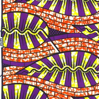 アフリカ布の切り売り 90cm単位 ハンドメイド 1種類のお値段です(生地/糸)