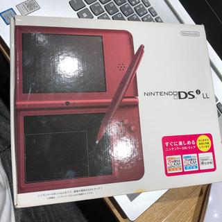 ニンテンドーDS(ニンテンドーDS)のNintendo ニンテンドー DSi  LL WINE RED 本体(携帯用ゲーム機本体)