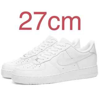 NIKE - Nike Air Force 1 '07 white 27cm
