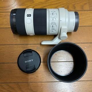 SONY - SONY SEL70200G F4 70-200mm プロテクター付き