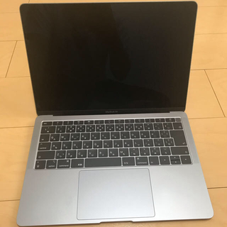 Mac (Apple) - MacBook Air 2018 スペースグレイ 16GB