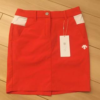 デサント(DESCENTE)のDESCENTEゴルフ スカート サイズSS  タグ付き(ウエア)