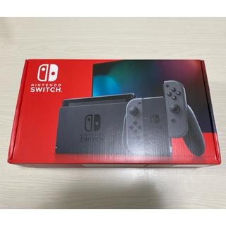 ニンテンドースイッチ(Nintendo Switch)の【当日発送】Nintendo Switch Joy-Con(L)/(R) グレー(家庭用ゲーム機本体)