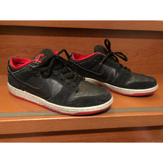 NIKE - nike sb dunk low black cement 27.5cm