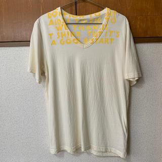 マルタンマルジェラ(Maison Martin Margiela)のメゾンマルジェラ エイズTシャツ Sサイズ(Tシャツ/カットソー(半袖/袖なし))