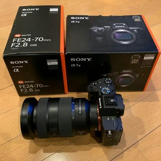 SONY - Sony α7 iii +FE24-70mm f2.8 GMレンズ