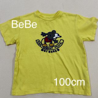 ベベ(BeBe)のTシャツ 100cm bebe ディズニー コラボ ミッキーマウス(Tシャツ/カットソー)