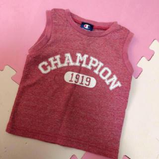 Champion - 明日15まで チャンピオン タンクトップ 90サイズ