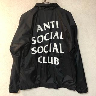 アンチ(ANTI)のANTI SOCIAL SOCIAL CLUB ✨コーチジャケットSサイズ(ナイロンジャケット)