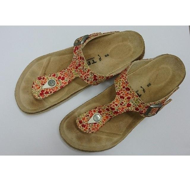 BIRKENSTOCK(ビルケンシュトック)のビルケンシュトック【TATAMI】リバティ柄 サンダル  39 (25㎝) レディースの靴/シューズ(サンダル)の商品写真