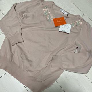 クチュールブローチ(Couture Brooch)の新品未使用 クチュールブローチ ニット 刺繍(ニット/セーター)