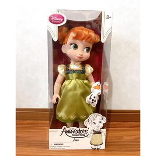 Disney - disney アナ 人形 Animation  collection 未開封