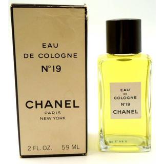 シャネル(CHANEL)のシャネル香水No.19アメリカニューヨーク販売物(香水(女性用))