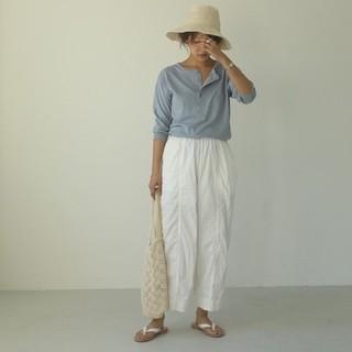 トゥデイフル(TODAYFUL)のウォッシュドワイドパンツ washed wide pants todayful(カジュアルパンツ)