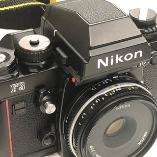 【美品】Nikon F3 HP・AI Nikkor 45mm F2.8P