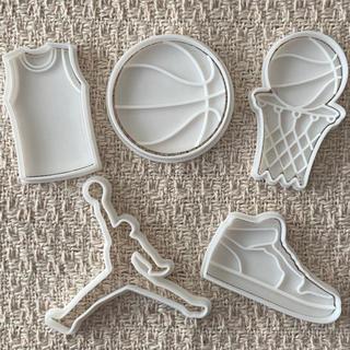 バスケットボールクッキー型(調理道具/製菓道具)