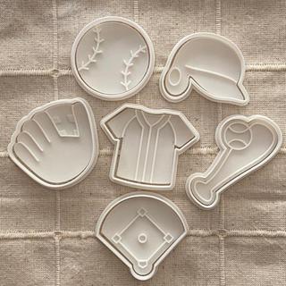 野球クッキー型(調理道具/製菓道具)
