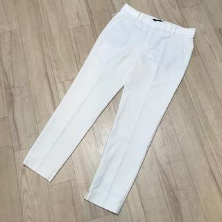 ZARA - ZARA  テーパード パンツ スラックス ホワイト