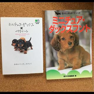 ミニチュア・ダックスフント 本 2冊セット(犬)