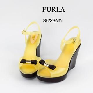 フルラ(Furla)のFURLA フルラ キャンディラバー サンダル 23cm 36 美脚(サンダル)