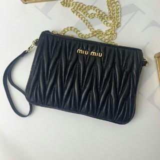 ミュウミュウ(miumiu)のMiumiu 折財布(トートバッグ)