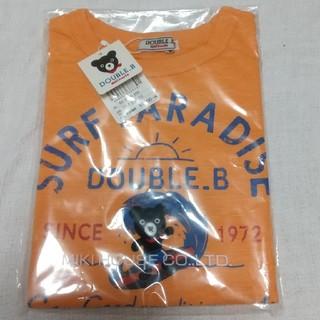 mikihouse - ミキハウスダブルビー110サイズBくんサーフィンT
