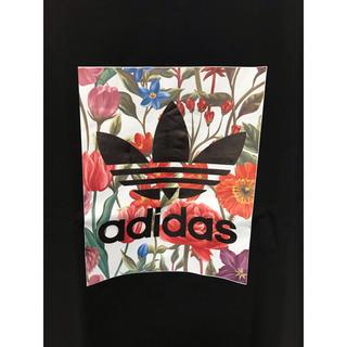 adidas - アディダス Tシャツ ブラック 1点のみ!
